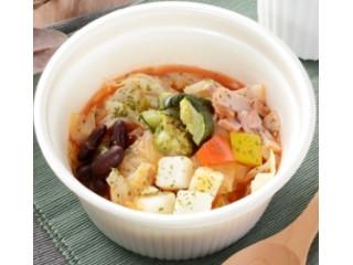ローソン 10種野菜と豆のミネストローネ