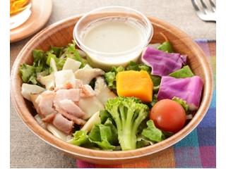 ローソン 緑黄色野菜ときのこのサラダ
