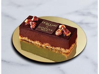 ローソン Uchi Cafe' SWEETS × GODIVA ショコラケーキ
