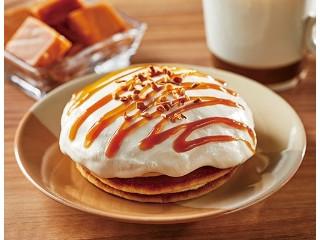 ローソン キャラメルクリームのパンケーキ