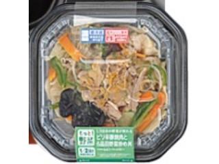 ローソン 1/2日分の野菜ピリ辛豚焼肉六品目野菜炒め丼