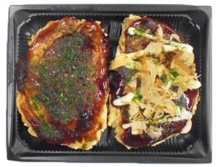 ローソン 鶴橋風月監修 豚モダン焼とチーズ玉