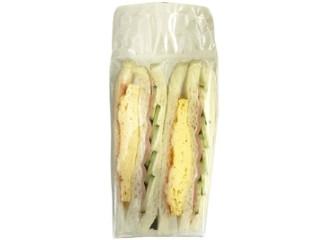 ローソン ハムと玉子焼きのサンドイッチ