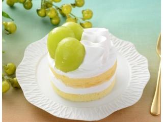 ローソン シャインマスカットのショートケーキ