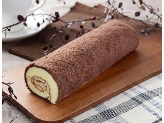 ローソン チョコスポンジロール ベルギーチョコ入りクリーム