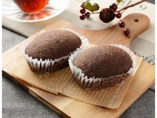 ローソン NL ブランのスイートチョコ蒸しケーキ ベルギーチョコ使用 2個