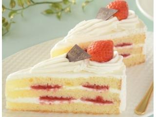 ローソン Uchi Cafe' SWEETS パーティーケーキ ストロベリーショート 2個入