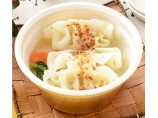 ローソン 餃子と野菜の中華スープ