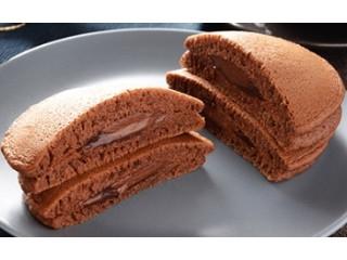 ヘーゼルナッツチョコのもちっとパンケーキ