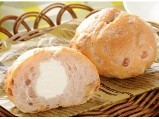 マチノパン もち麦とくるみのチーズクリームパン