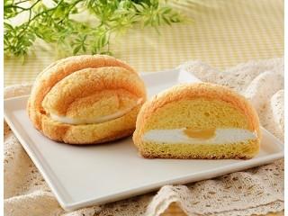 ツインクリームのたまごメロンパン