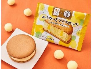 Uchi Cafe' SWEETS×八天堂 かすたーどアイスサンド