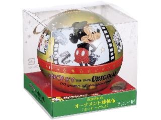 ブルボン オーナメント球体缶 ミッキーマウス 缶20g