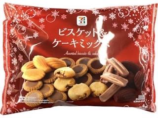 セブンプレミアム ビスケット&ケーキミックス クリスマスパッケージ 袋335g