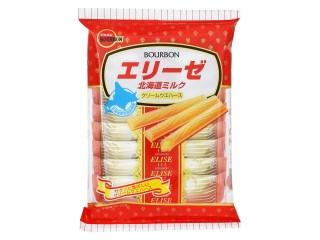 ブルボン エリーゼ 北海道ミルク 袋18本