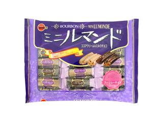 ブルボン ミニルマンド ココアクリーム&ミルクチョコ ファミリーサイズ 袋220g