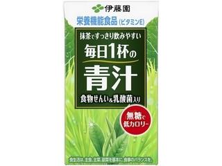 伊藤園 毎日1杯の青汁 無糖タイプ パック125ml