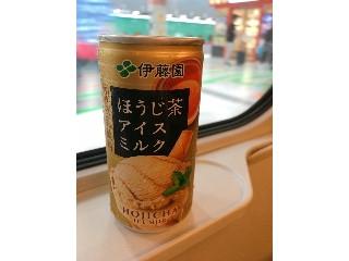 伊藤園 ほうじ茶アイスミルク 缶190ml
