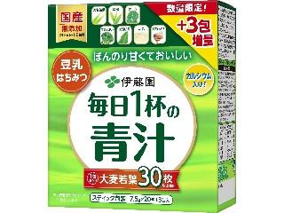 伊藤園 豆乳とはちみつ入りでおいしい 毎日1杯の青汁 増量タイプ 箱23包