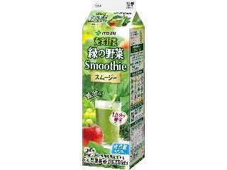 伊藤園 充実野菜 緑の野菜 Smoothie パック1000ml