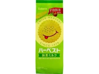 東ハト ハーベスト 抹茶ミルク 袋12.5g×8