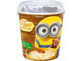 丸美屋 チーズのスープリゾット ミニオン カップ79.6g