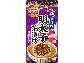 丸美屋 家族の明太子茶漬け 袋31g
