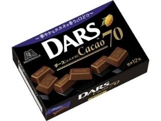 森永製菓 ダース カカオ70 箱40g