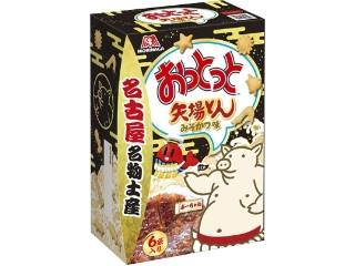 森永製菓 おっとっと 矢場とん みそかつ味 箱18g×6