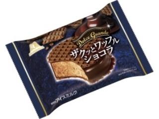 森永製菓 ザクッとワッフルショコラ 袋90ml