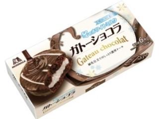 森永製菓 ガトーショコラ 冬のホワイトミルク 箱6個