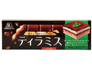 森永製菓 板チョコがおいしいアイス ティラミス