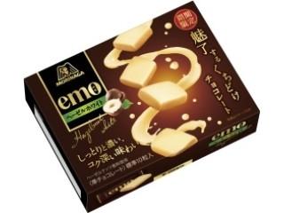森永製菓 emo ヘーゼルホワイト 箱40g