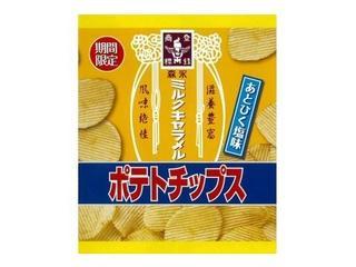森永製菓 ミルクキャラメルポテトチップス 袋60g