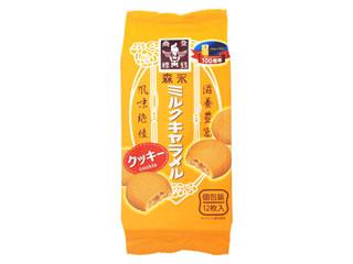 森永製菓 森永ミルクキャラメルクッキー 袋12枚