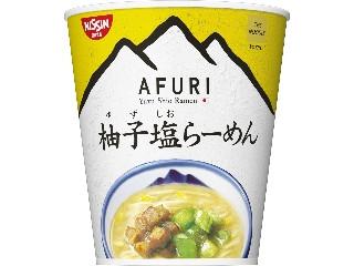 日清食品 THE NOODLE TOKYO AFURI 柚子塩らーめん mini カップ35g