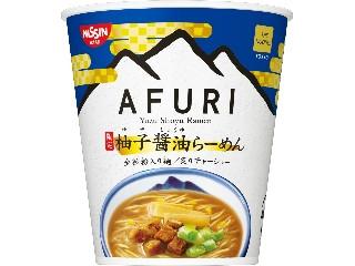 日清食品 THE NOODLE TOKYO AFURI 限定柚子醤油らーめん カップ91g