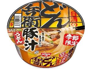 日清食品 日清のどん兵衛 豚汁うどん カップ98g