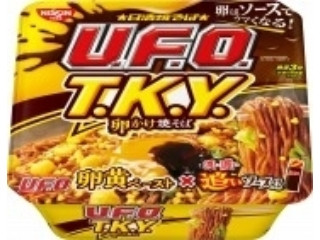 日清焼そばU.F.O. T.K.Y. 卵かけ焼そば濃い濃い追いソース付き