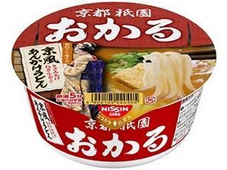日清 京都祇園おかる 京風あんかけうどん カップ81g