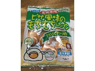 ニッポンハム ピザ風味のもちもちしたパン ツナ入りピザソース使用 袋200g