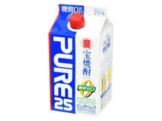 宝焼酎 ピュアパック 25度
