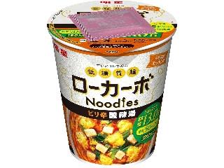 明星食品 低糖質麺 ローカーボNoodles ピリ辛酸辣湯 カップ59g