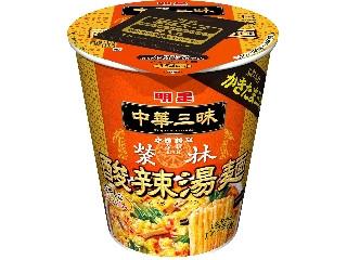 明星食品 中華三昧 赤坂榮林 酸辣湯麺 カップ93g