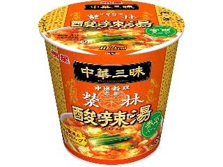 明星食品 中華三昧 赤坂榮林 酸辣湯春雨 カップ30g