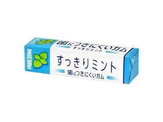 ロッテ フリーゾーンガム 歯につきにくいガム すっきりミント 9枚