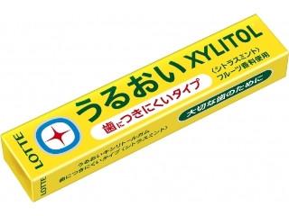 ロッテ うるおいキシリトールガム シトラスミント 14粒