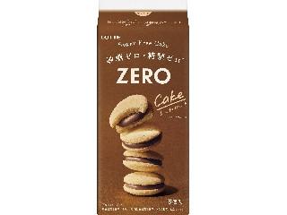 ロッテ ゼロ シュガーフリーケーキ 袋8個