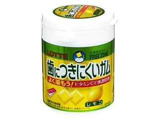 ロッテ 歯につきにくいガム レモン ボトル138g