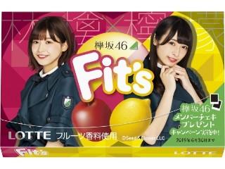 ロッテ Fit's 欅坂46ガム 林檎×檸檬 箱12枚